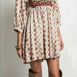 Umgee Tribal Print Dress